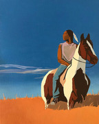 Young Man on Horse