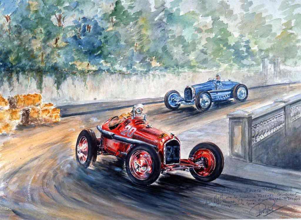 Monaco 1934 Alfa Roméo