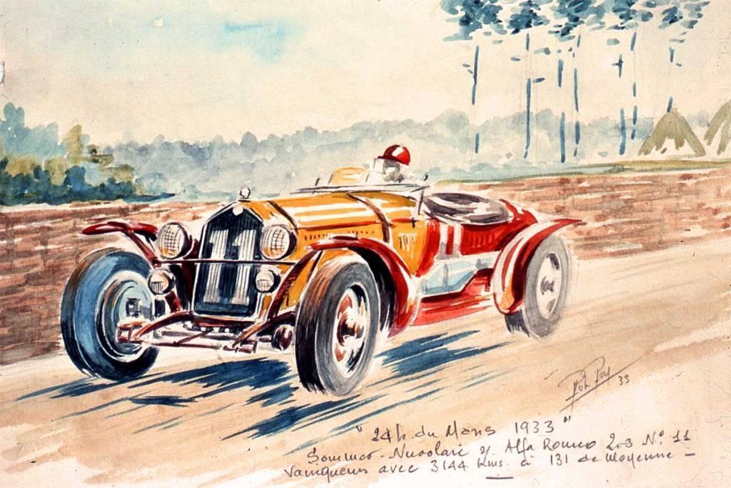 Alfa Roméo Le Mans 1933 Nuvolari