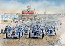 Montlhery Les Bugattistes