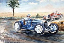 GP de Reims Bugatti  Chiron