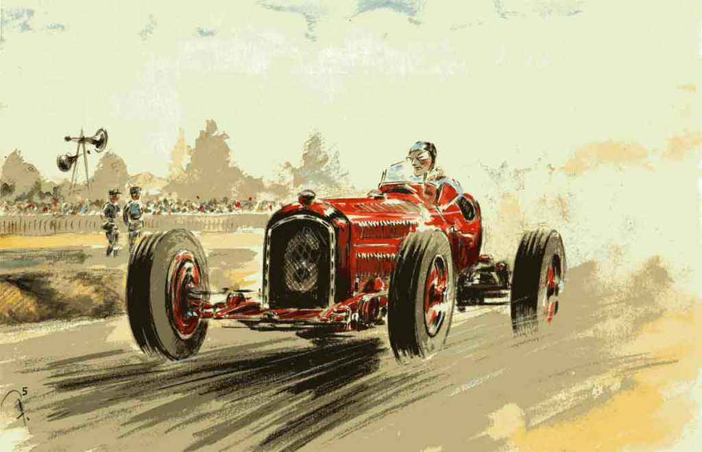 Grand Prix de l'ACF 1933 Alfa Roméo