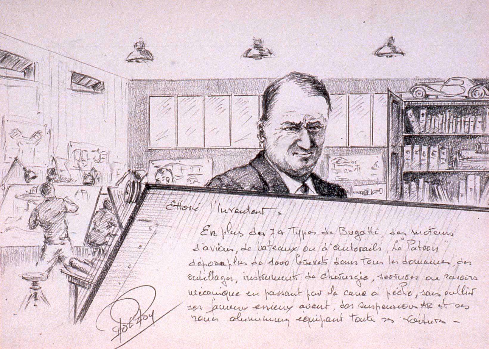 Ettore Bugatti l inventeur