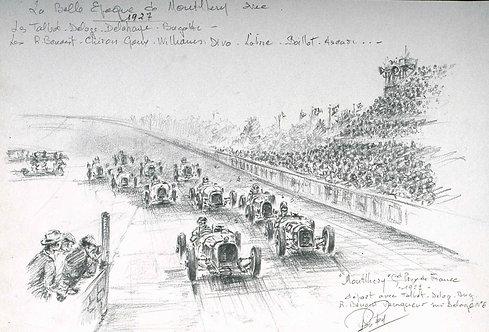 ACF 1927 depart Papier d''Art