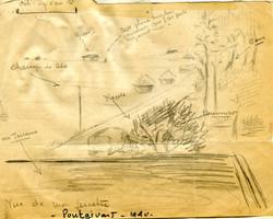 Plan de Pontgivard et de environs