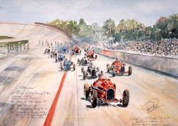 Grand Prix de l'ACF 1934 départ