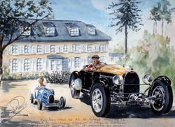 Rob Roy dabs sa Bugatti