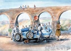 Raviytaillement à la Targa Florio 1929
