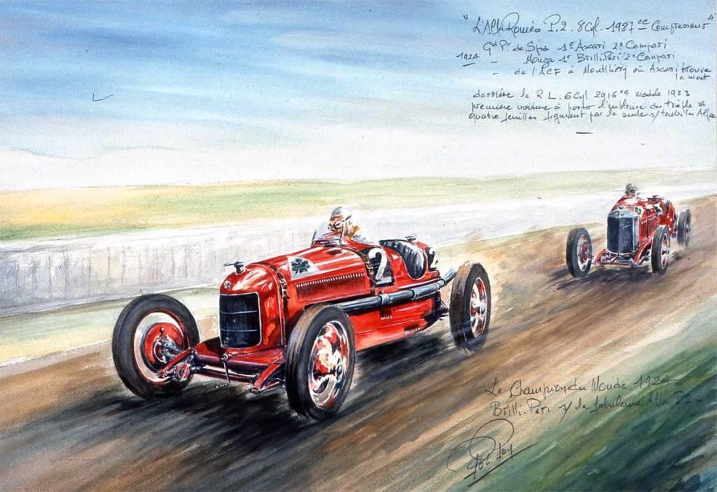 Spa 1924 AlfaRoméo P2