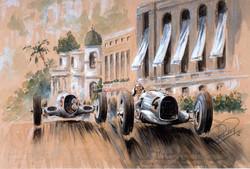 Monaco 1935 Mercedes