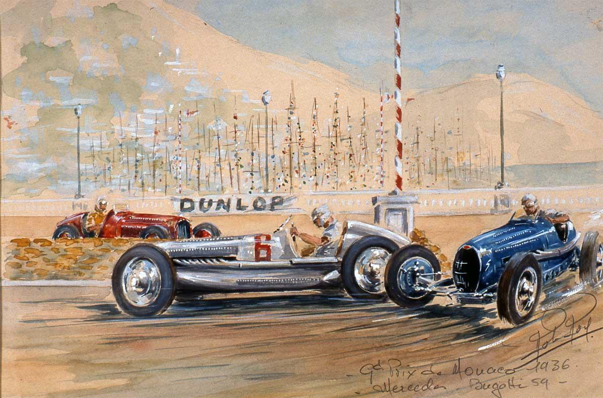 Le Baroud d'honneur à Monaco