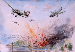 Bombardement de l'usine à Molsheim