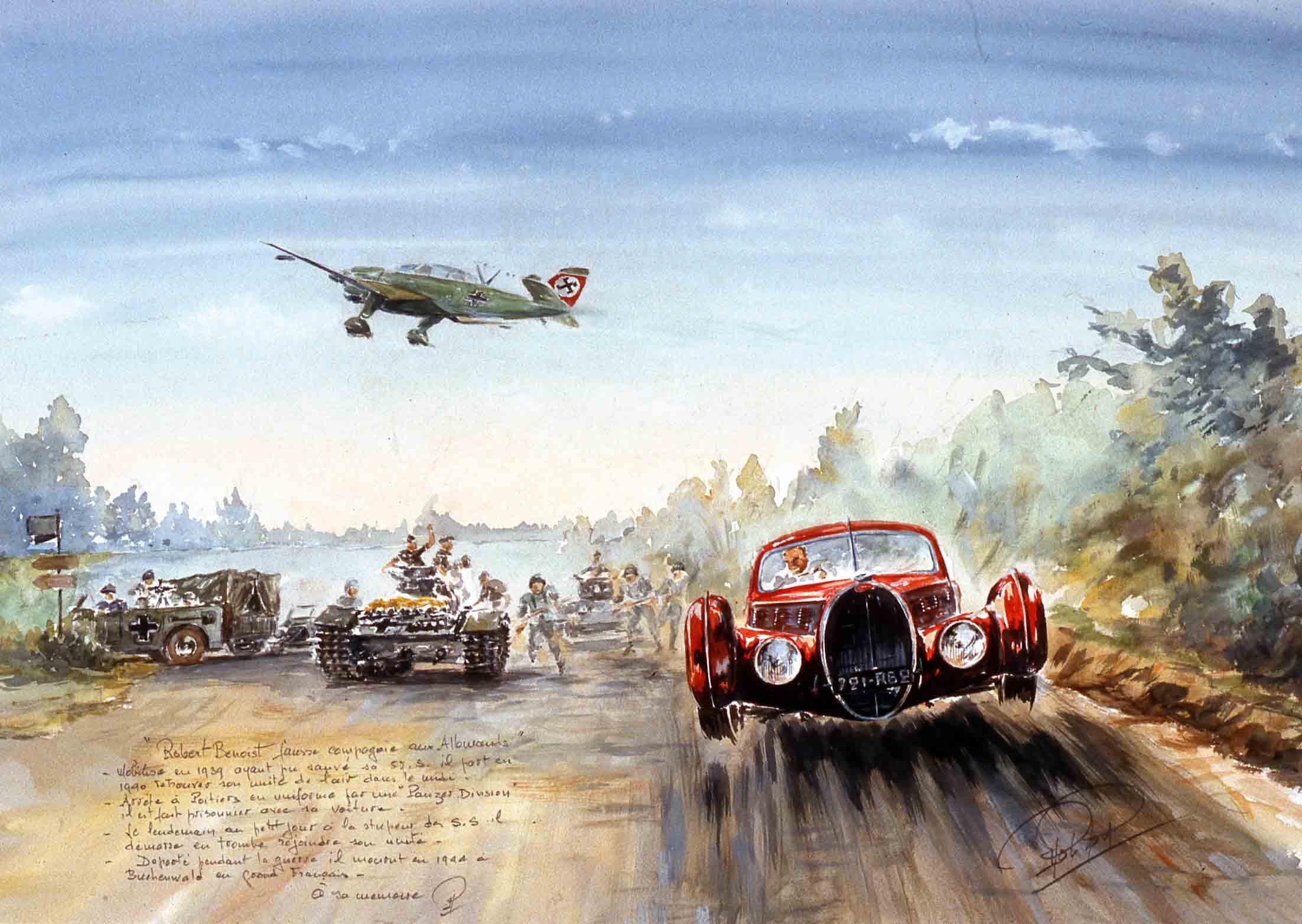 L evasion de Robert Besnoit en juin 1940