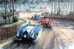 Le Mans 1939 Bugatti