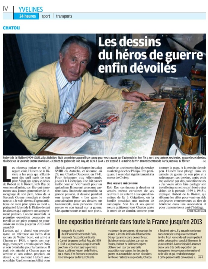 Le Parisien Yvelines Octobre 2013