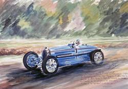 Circuit de l'Avus Bugatti