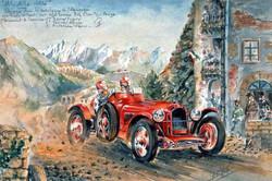 Alfa Roméo Mille Mille 1936