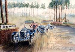 Le Mans 1932 Amilcar