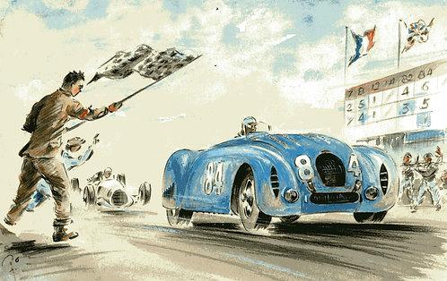 ACF 1936 Wimille Fine Art Paper