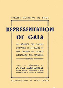 Reims Gala du maire