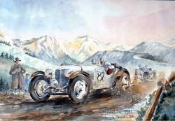 Mille Mille 1931 Mercedes