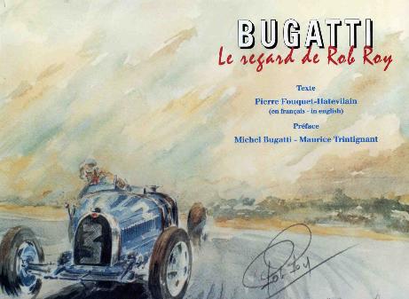 Livre Bugatti