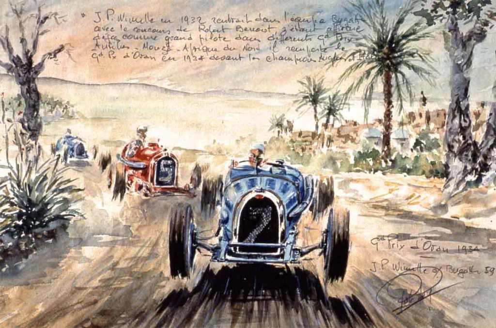 Oran 1934 Wimille