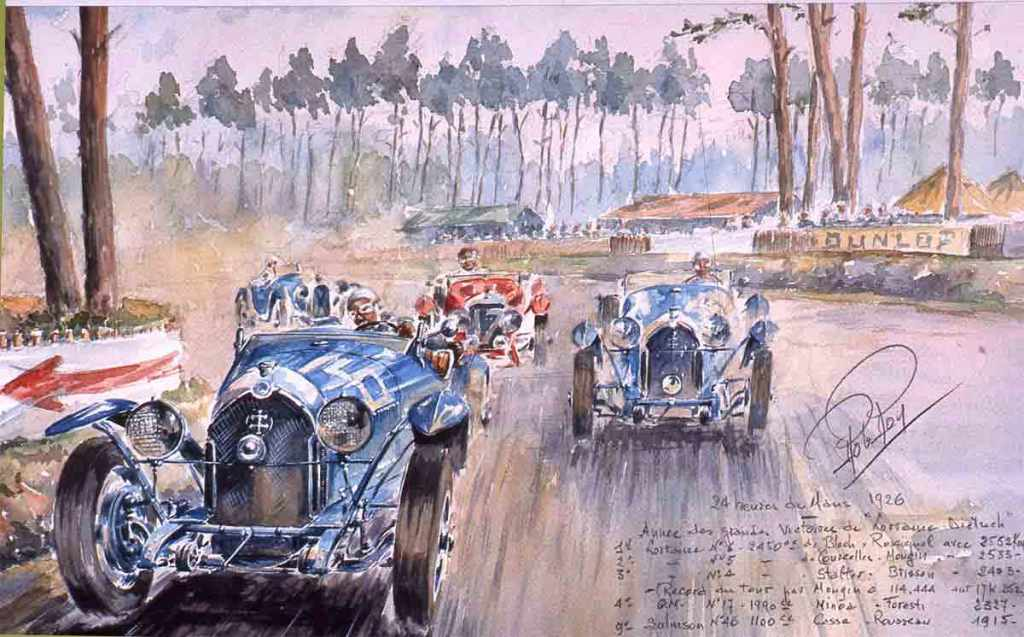 Le Mans 1926 Lorraine  Dietrich
