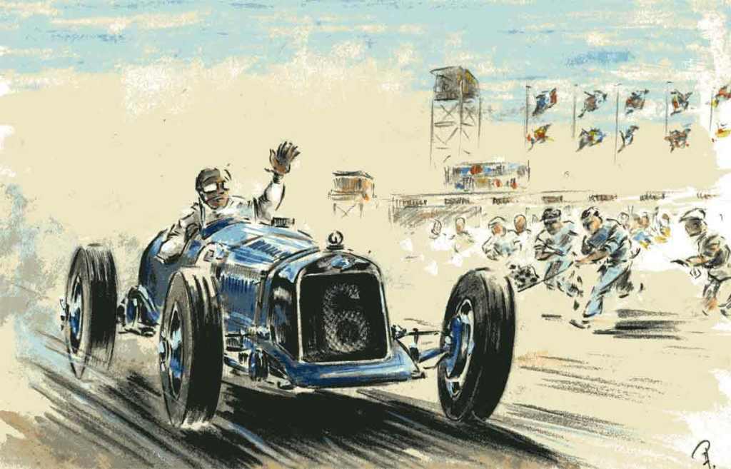Grand Prix ACF 1927 Delage Benoist