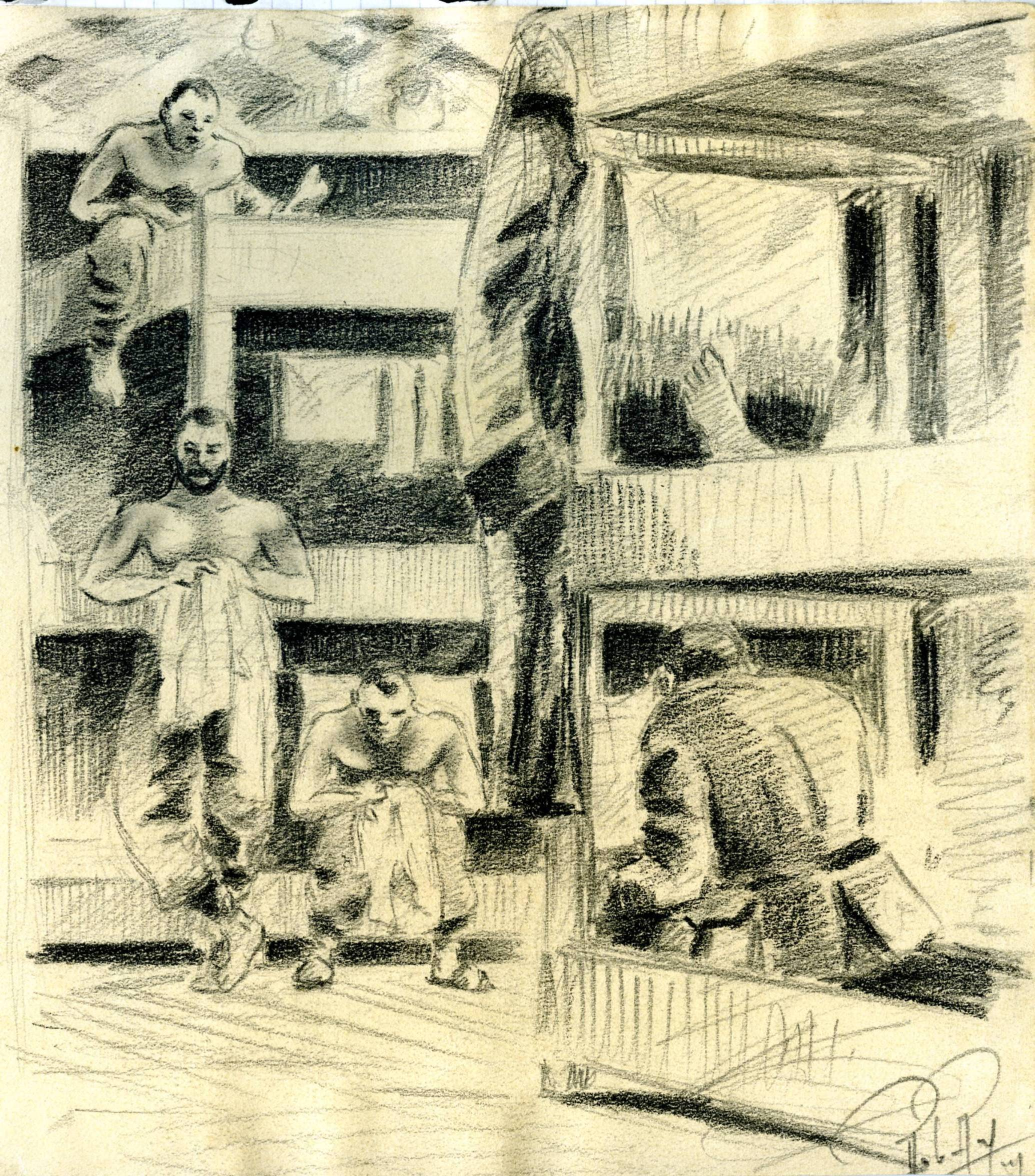 Le baraquement