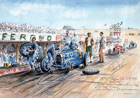 ACF1931 Bugatti Papier d'Art