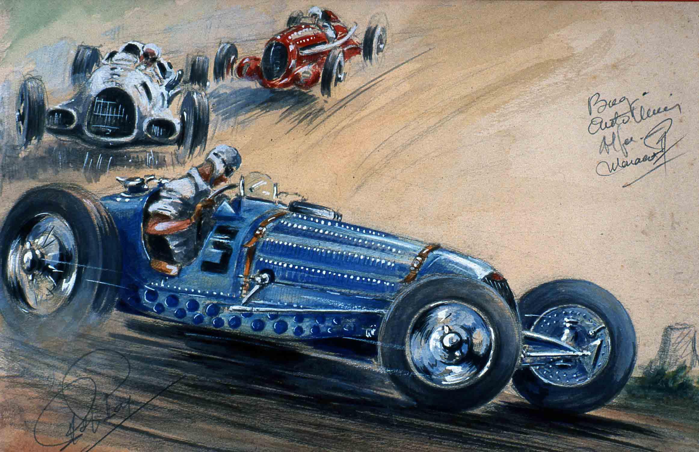 Bugatti Auto Union 1936