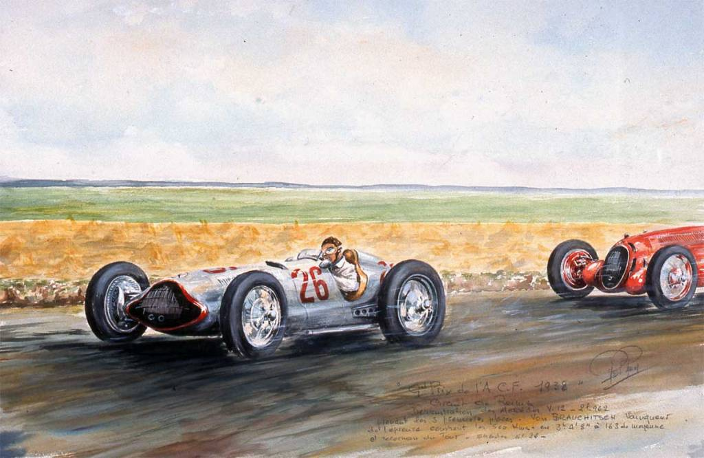 Grand Prix de l 'ACF 1938 Reims