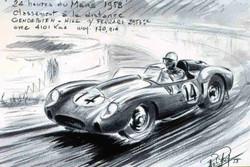 Le Mans 1958 Ferrari