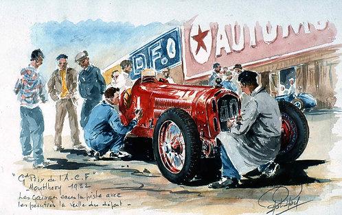 ACF 1932 Veille depart Papier d'Art