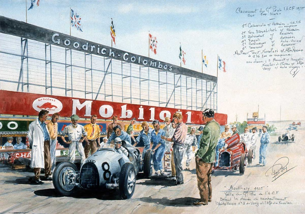 Grand PrF 1935 Montlhery