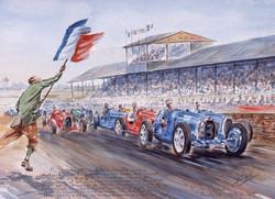Les Grands Prix Bugatti