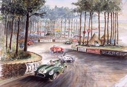 Le Mans 1955 Terte Rouge
