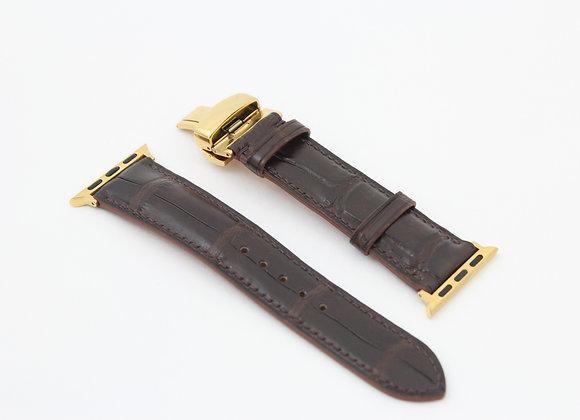Crocodile skin Apple Watch Straps