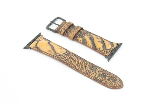 Ostrich Skin Apple Watch Straps
