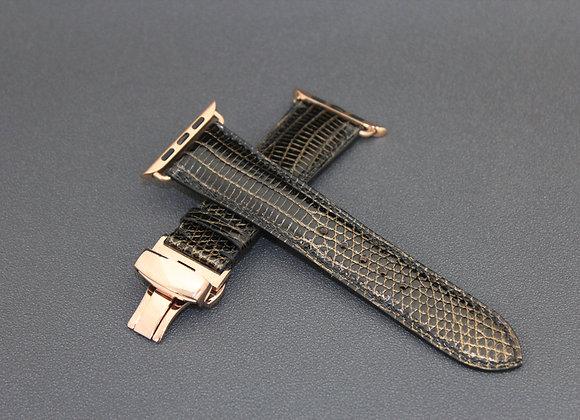 Varan Skin Leather Apple Watch Straps