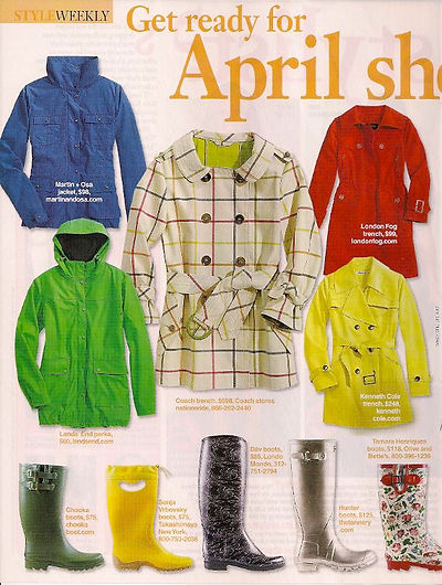 Evoluer Fashion Expert in Life & Style Magazine