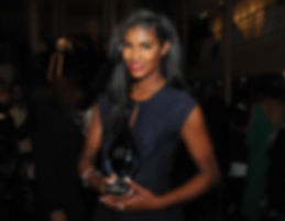 "Supermodel Sessilee Lopez Returned to Receive The Evoluer House ""Trailblazer Award"""