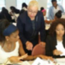 Financial literacy workshop for teen girls.