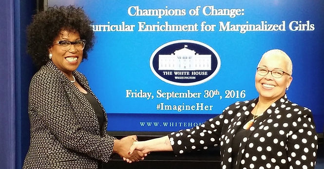 White House Recognizes Evoluer House Founder as Champion of Change