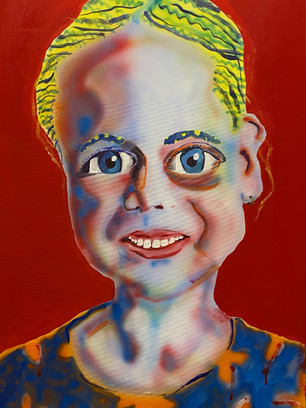 Annekie, 70x50cm, acrylic on canvas