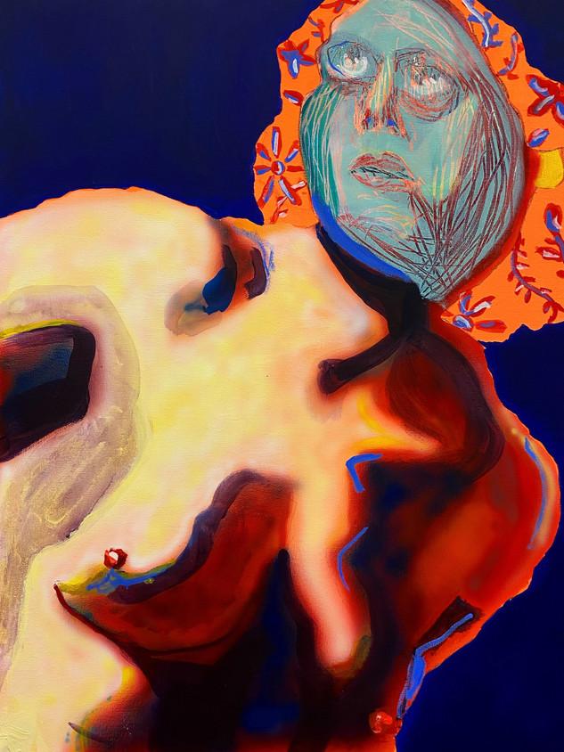 Ugly Beautifulness, 60x45cm, acrylic on canvas