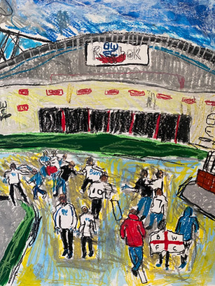 Walking Down the Manny Road - £20.00