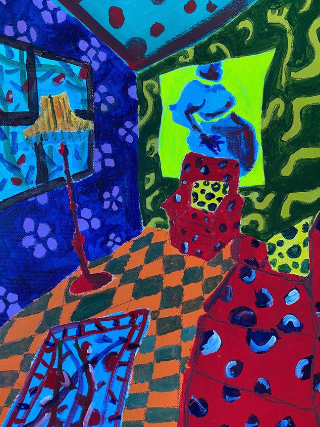 You Have Bad Taste, 36 cm x 25 cm, acrylic on canvas