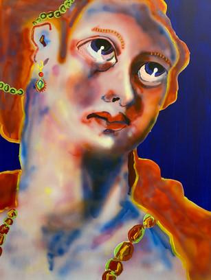 New Master, 100x80cm, acrylic on canvas